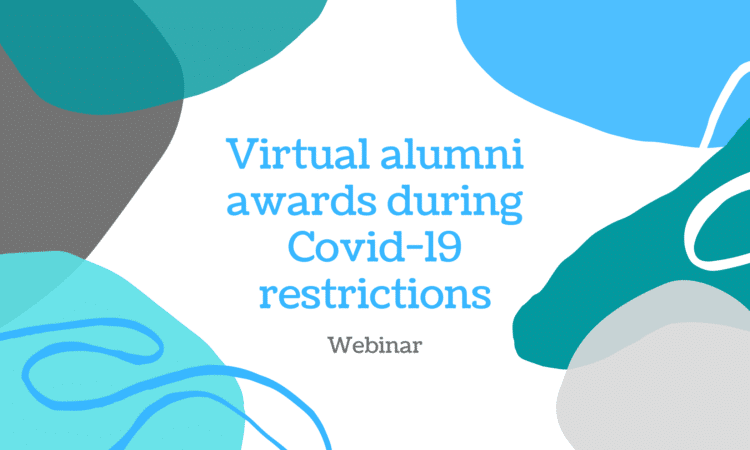 Virtual alumni awards during Covid-19 restrictions