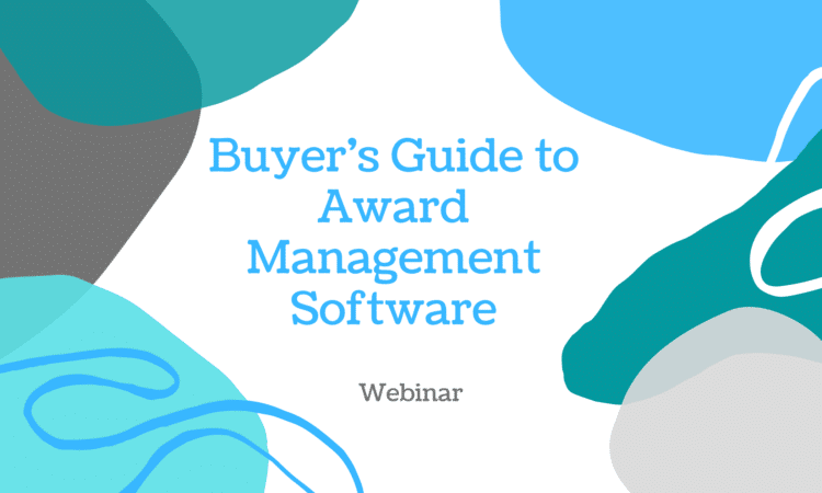 Buyer's guide to award management software