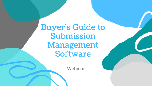 Buyer's Guide to Submission Management Software