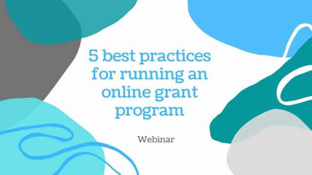 5 best practices for running an online scholarship program